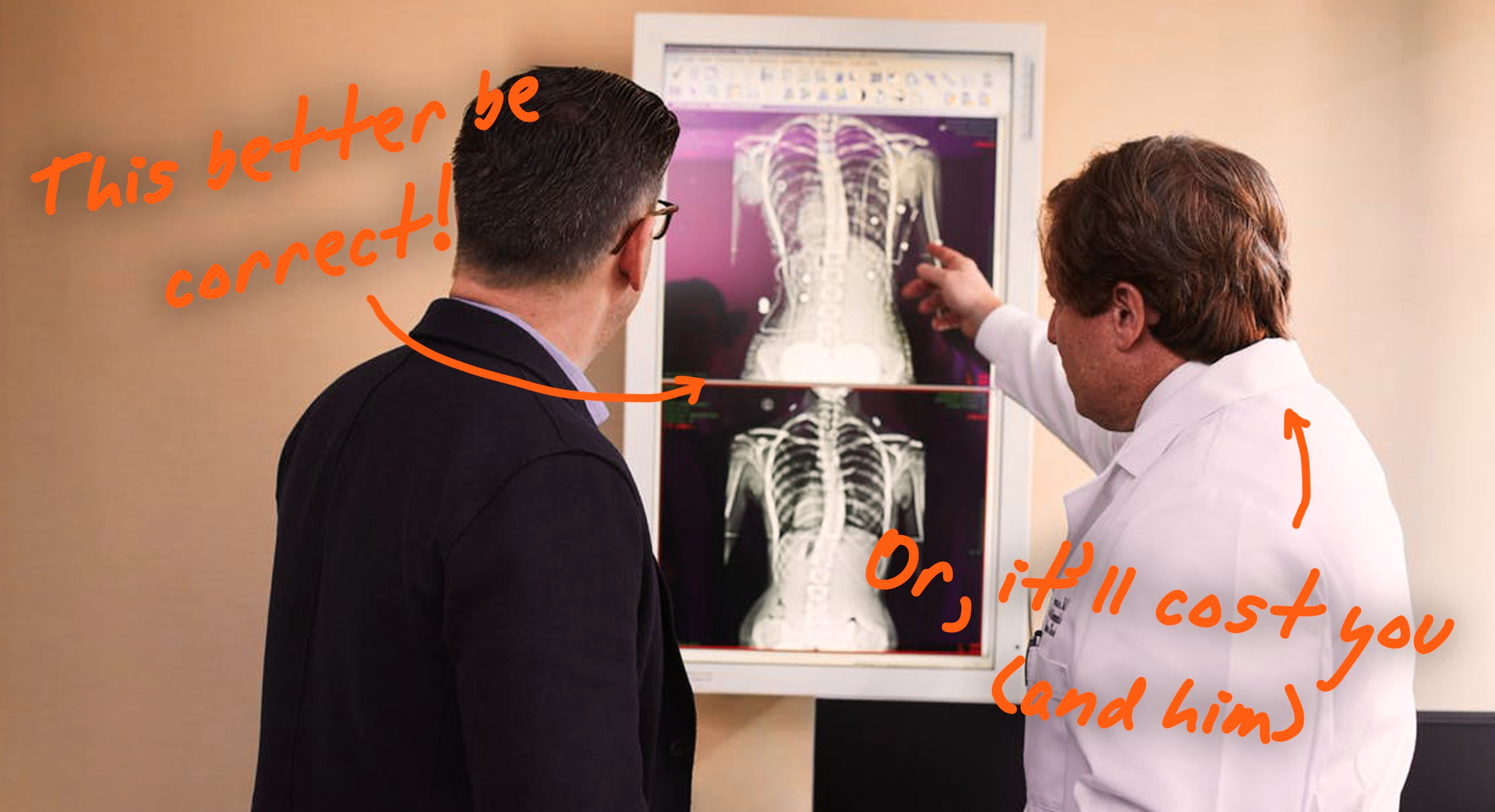 doctor talking a patient