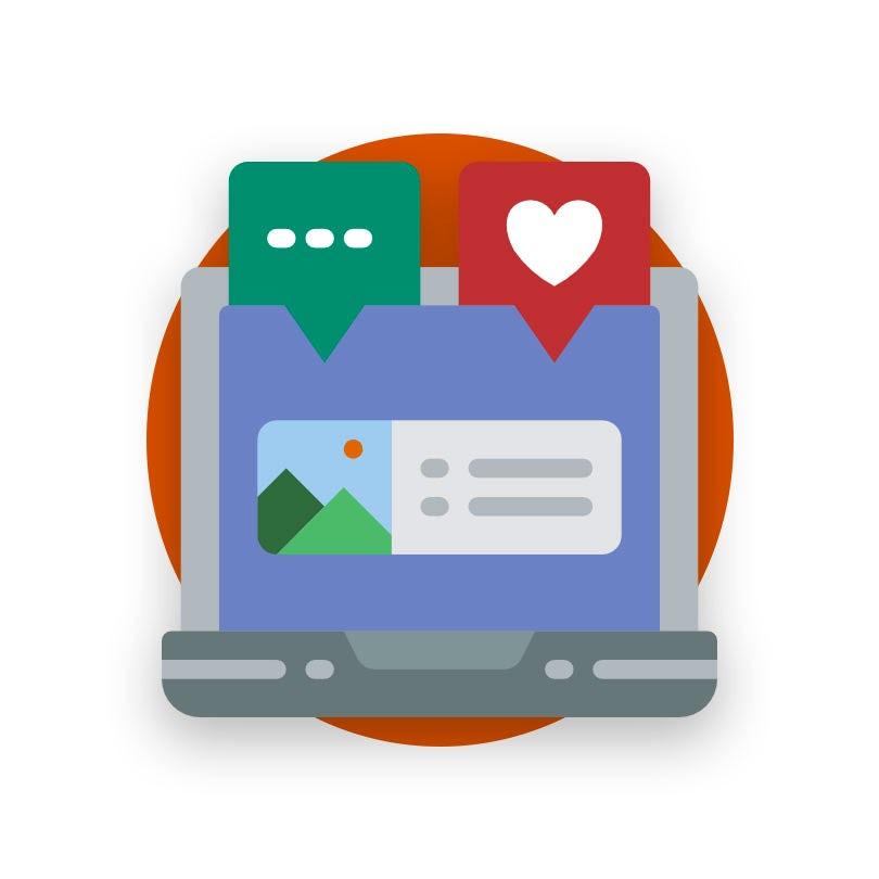Virtual assistants for social media
